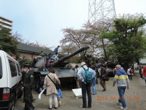 2014年テーマパーク的戦車