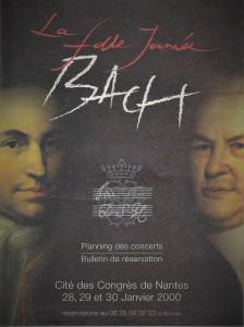 ラ・フォル・ジュルネ 2000年ナントの公演一覧の表紙