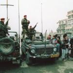 写真4:アフガニスタン2002年 多国籍軍のドイツ兵士