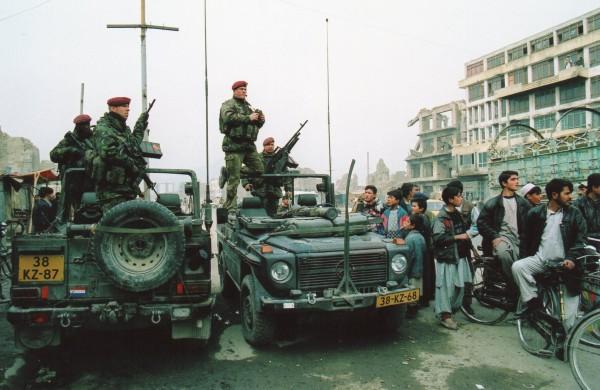 アフガニスタン2002年 多国籍軍のドイツ兵士