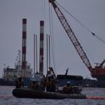写真6:沖縄2015年 民意を顧みず辺野古沖の埋め立て工事を進める政府